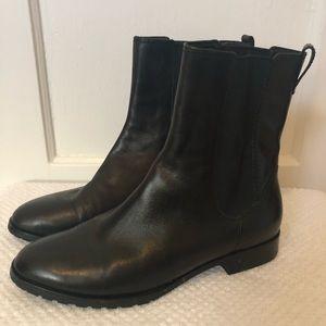 Cole Haan- Nike Air black booties